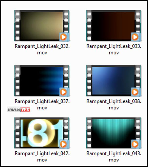 افکت های ویدئویی رمپانت Rampant Film Bundle
