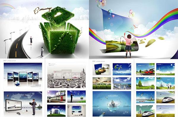 تصاویر Psd تبلیغاتی
