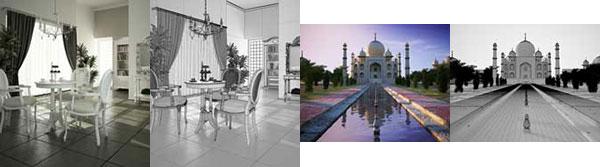 طراحی داخلی و بیرونی