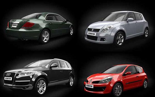 مدل اتومبیل با کیفیت HD