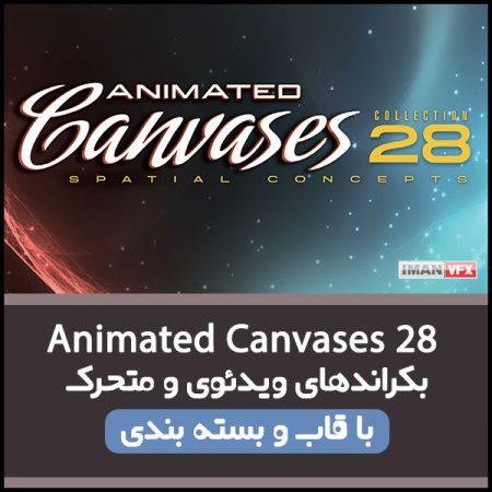 بکراند ویدئویی Animated Canvases 28
