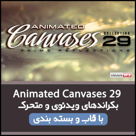 بکراند ویدئویی Animated Canvases 29