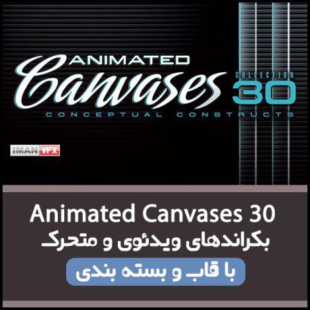 بکراند ویدئویی Animated Canvases 30