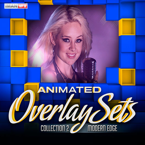 افکت ویدئویی Animated Overlay Sets 2