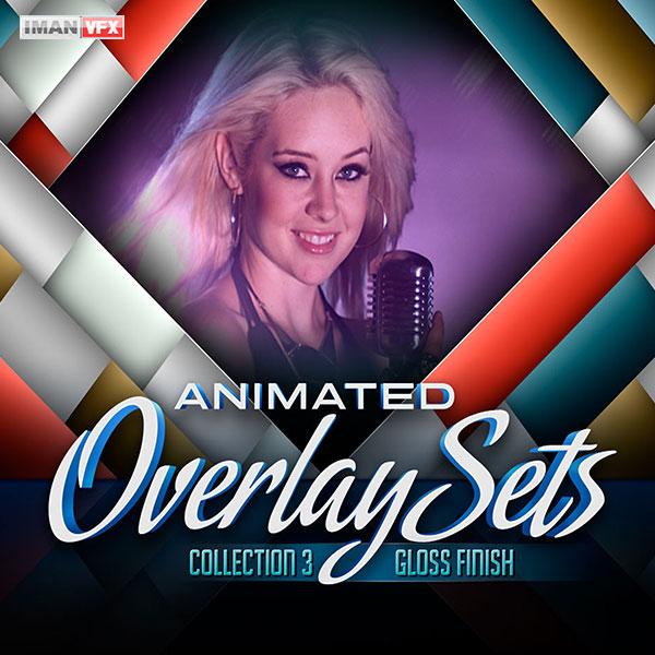 افکت ویدئویی Animated Overlay Sets 3