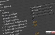 ویژگی Supersampling در پلاگین Element 3d