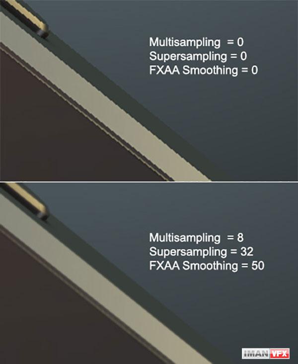 Supersampling for element3d plugin