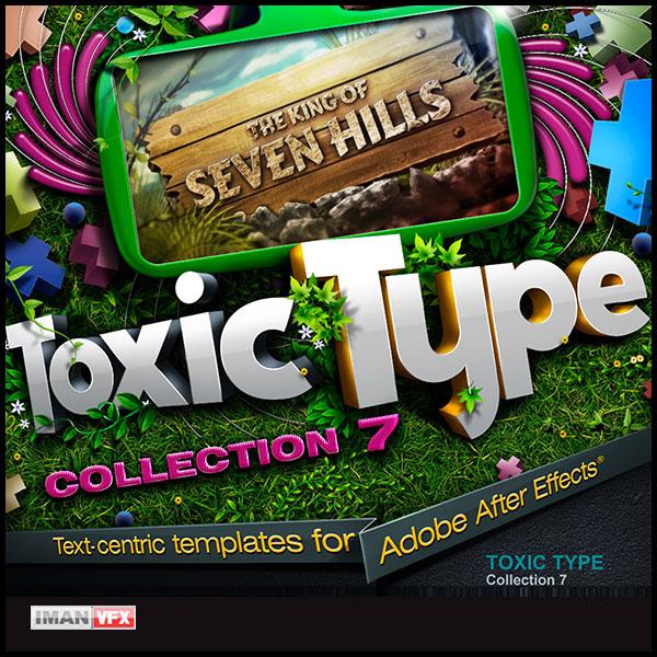 پروژه آماده افترافکت Toxic Type 7