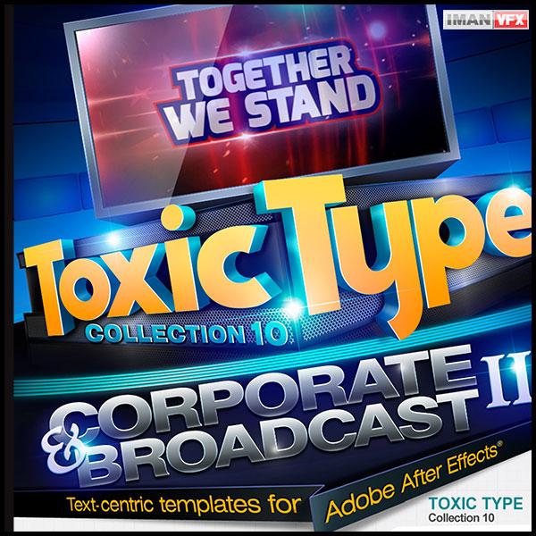 پروژه آماده افترافکت Toxic Type 10