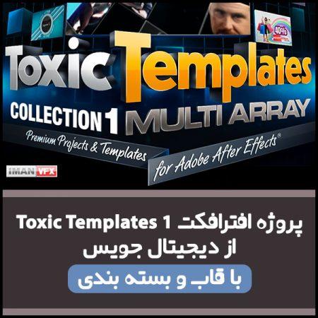 پروژه افترافکت Toxic Template 1