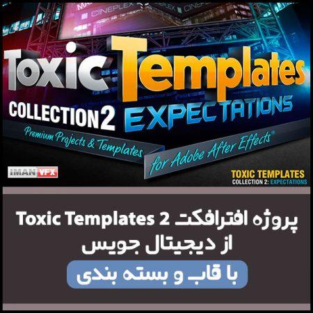 پروژه افترافکت Toxic Template 2