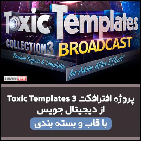 پروژه افترافکت Toxic Template 3