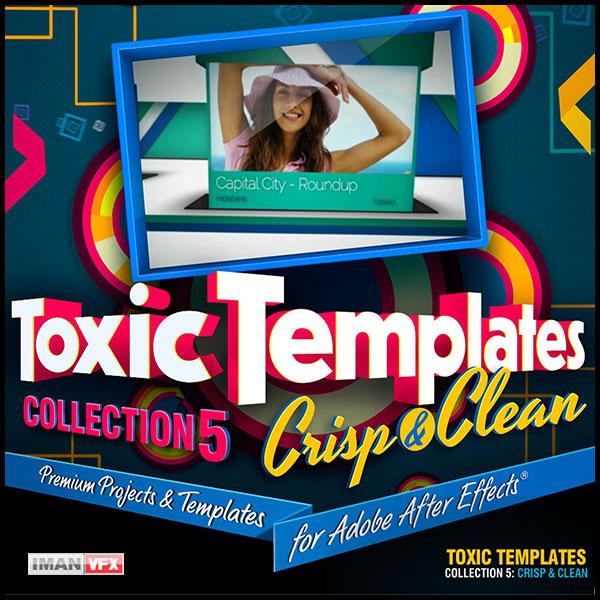 پروژه افترافکت Toxic Template 5