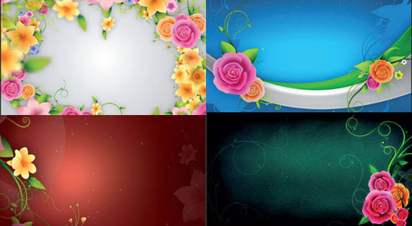 Trellis Blooms Animated Canvases