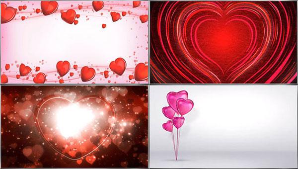 Animated Hearts