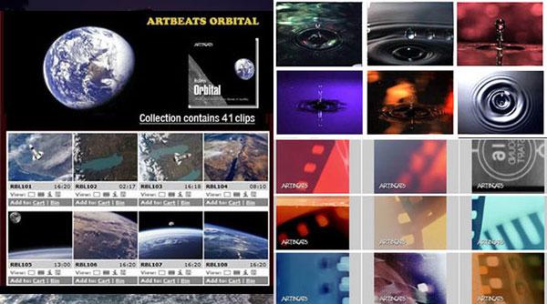 ArtBeats Footage