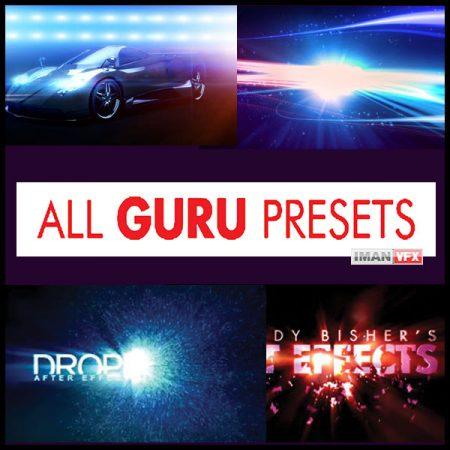 پریست های افترافکت All Guru Presets