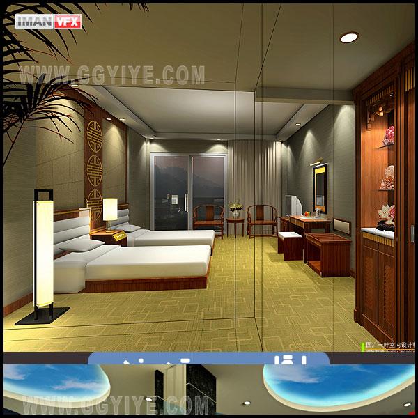 مدل 120 صحنه داخلی با Vray