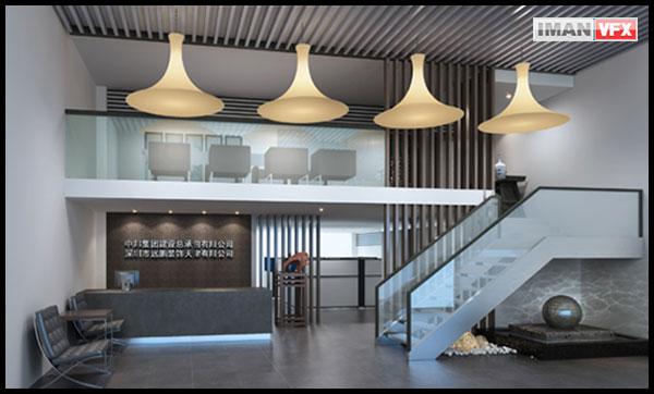 مدل 20 صحنه طراحی داخلی با Vray