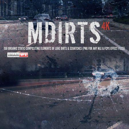تصاویر mDirts 4K خراش و کثیفی لنز دوربین