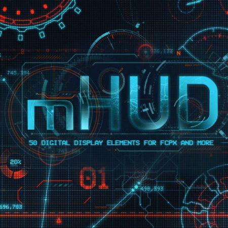کلیپ های mHUD از MotionVFX