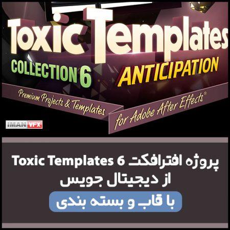 پروژه افترافکت Toxic Template 6