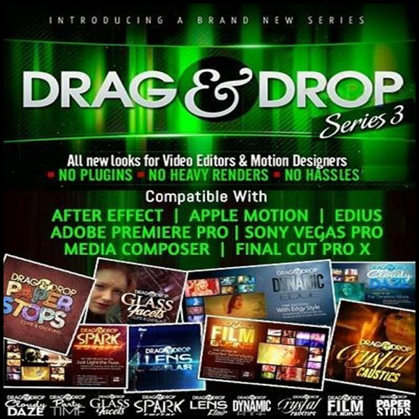 لایت و افکت نوری Drag & Drop Series 3