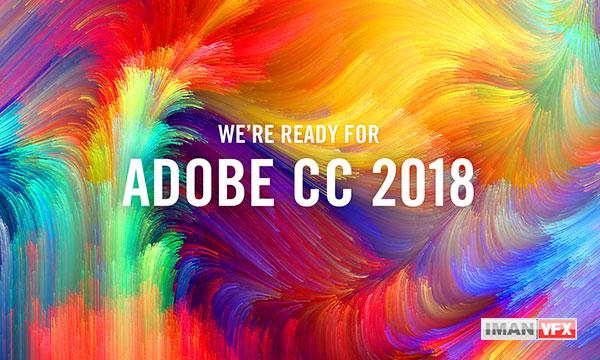 دانلود نرم افزارهای Adobe cc 2018