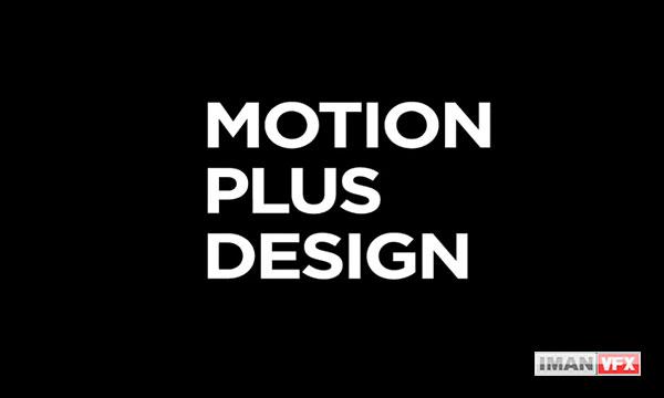 تیزر رویداد Motion Plus Design 2019
