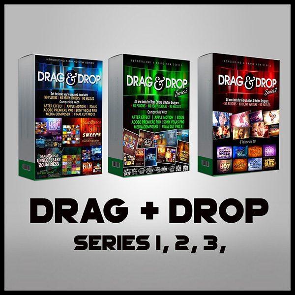 افکت نوری Drag & Drop سری 1-2-3
