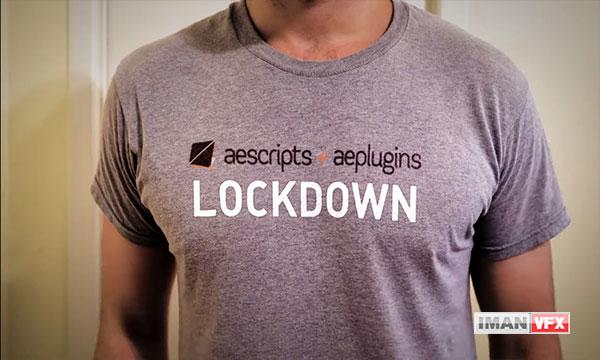 معرفی پلاگین افترافکت Lockdown