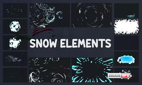 پروژه افترافکت عناصر موشن گرافیک