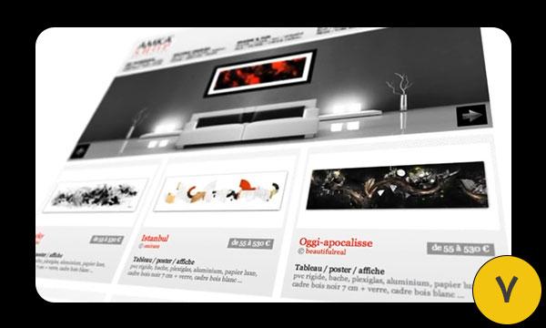 آموزش افترافکت انیمیشن وب سایت