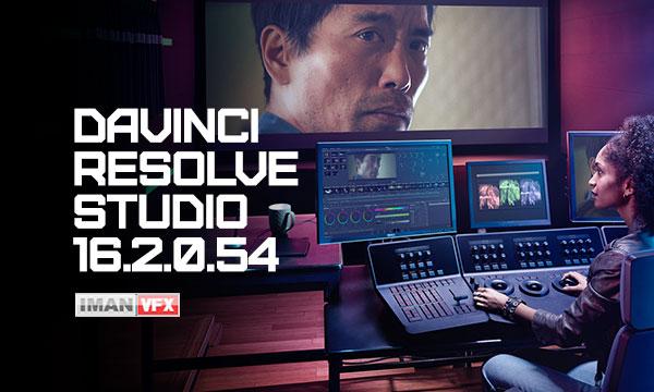 دانلود داوینچی ریزالو DaVinci Resolve Studio 16.2.0.54