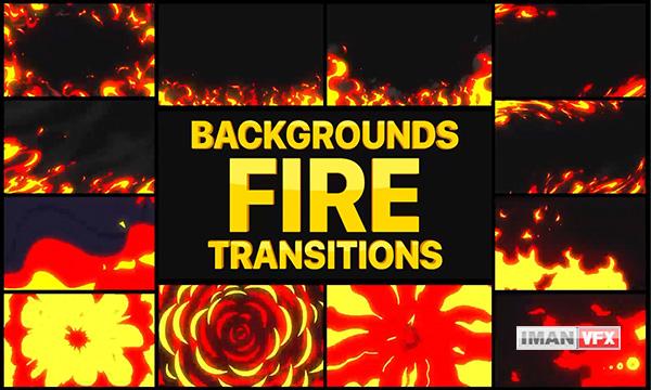 پروژه آماده افترافکت آتش موشن گرافیک