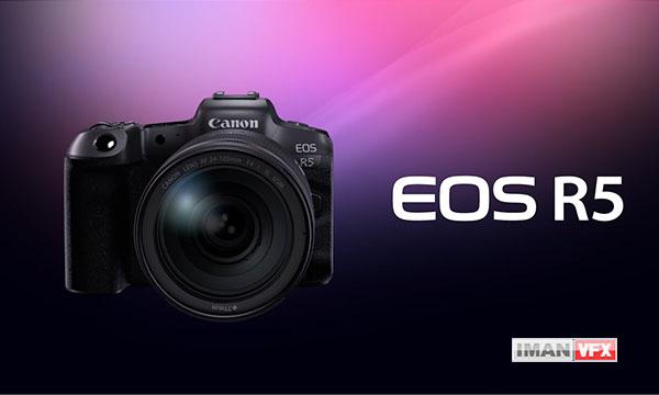 معرفی دوربین 8K کانن Canon EOS R5 یک فول فریم بدون آینه