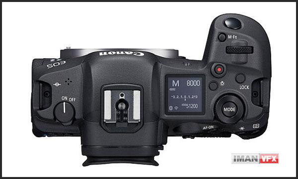 کانن Canon EOS R5 نمای بالا