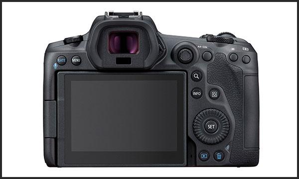 کانن Canon EOS R5 نمای پشت