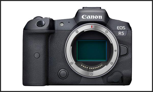 کانن Canon EOS R5 نمای روبرو