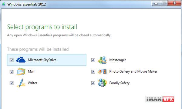 دانلود Windows Essentials برنامه های تکمیلی ویندوز