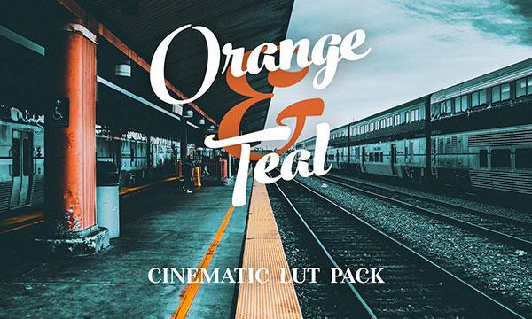 دانلود پریست LUT تنظیم رنگ Orange and Teal