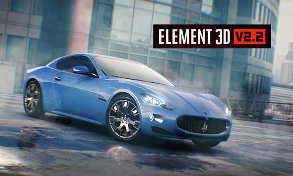 پلاگین Element 3D ,پلاگین المنت تری دی
