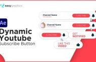 لایک و سابسکرایب یوتیوب پروژه آماده افترافکت رایگان