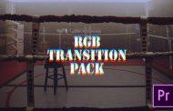 ترنزیشن RGB و Glitch برای پریمیر پرو ، تدوین و تدوینگر