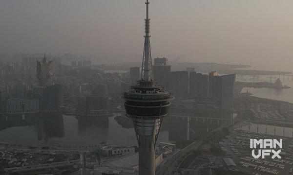 فوتیج شهر و آسمان خراش