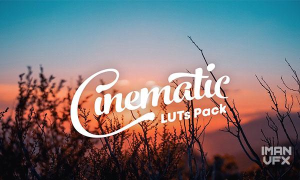 دانلود پریست تنظیم رنگ LUT از Creativemarket - Cinematic LUT