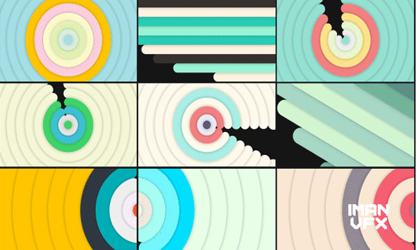 ترنزیشن موشن گرافیک برای پریمیر پرو