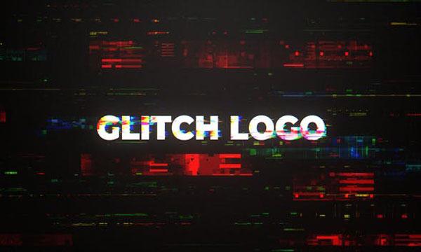 پروژه آماده پریمیر پرو : اینترو لوگو موشن Digital Glitch