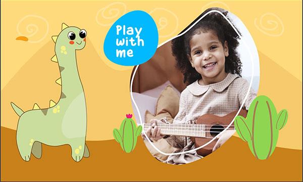پروژه اسلایدشو افترافکت کودک کارتونی